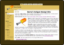 Screen shot of Electronic Hobbyist web site